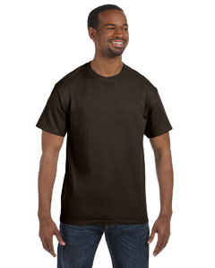 Dark Chocolate 6.1 oz. Tagless® T-Shirt