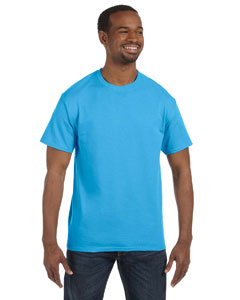 Aquatic Blue 6.1 oz. Tagless® T-Shirt
