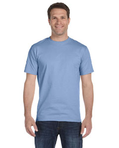 Light Blue Unisex 5.2 oz. ComfortSoft® Cotton T-Shirt