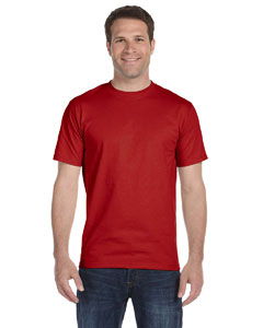 Deep Red Unisex 5.2 oz. ComfortSoft® Cotton T-Shirt