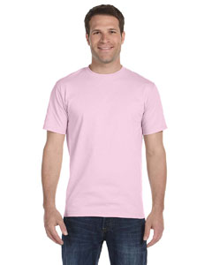 Pale Pink 5.2 oz. ComfortSoft® Cotton T-Shirt