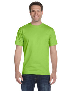 Lime Unisex 5.2 oz. ComfortSoft® Cotton T-Shirt