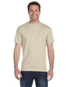 Sand 5.2 oz. ComfortSoft® Cotton T-Shirt