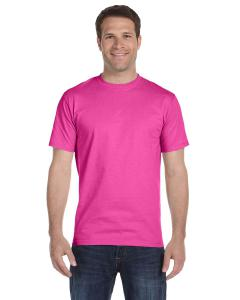 Wow Pink Unisex 5.2 oz. ComfortSoft® Cotton T-Shirt