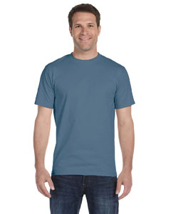 Denim Blue Unisex 5.2 oz. ComfortSoft® Cotton T-Shirt