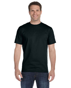 Black Unisex 5.2 oz. ComfortSoft® Cotton T-Shirt