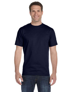 Navy Unisex 5.2 oz. ComfortSoft® Cotton T-Shirt