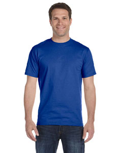 Deep Royal Unisex 5.2 oz. ComfortSoft® Cotton T-Shirt