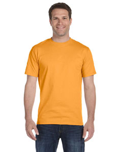 Gold Unisex 5.2 oz. ComfortSoft® Cotton T-Shirt