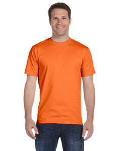 Orange Unisex 5.2 oz. ComfortSoft® Cotton T-Shirt