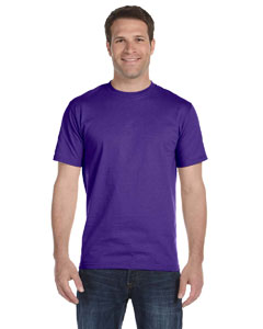 Purple Unisex 5.2 oz. ComfortSoft® Cotton T-Shirt