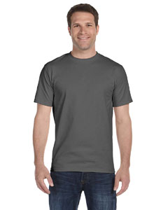 Smoke Gray Unisex 5.2 oz. ComfortSoft® Cotton T-Shirt