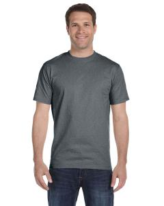 Oxford Gray Unisex 5.2 oz. ComfortSoft® Cotton T-Shirt