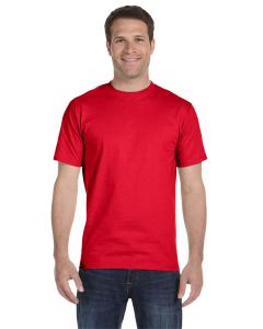 Athletic Red 5.2 oz. ComfortSoft® Cotton T-Shirt