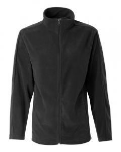Charcoal Women's Microfleece Full-Zip Jacket