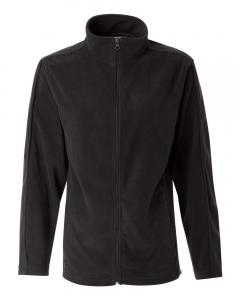 Onyx Black Women's Microfleece Full-Zip Jacket