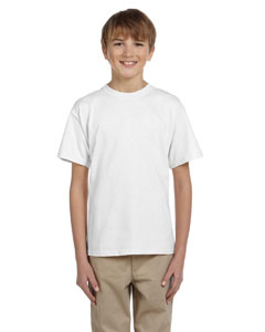 White Youth 5.2 oz., 50/50 ComfortBlend® EcoSmart® T-Shirt