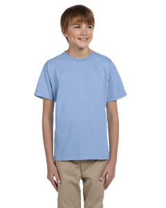 Light Blue Youth 5.2 oz., 50/50 ComfortBlend® EcoSmart® T-Shirt