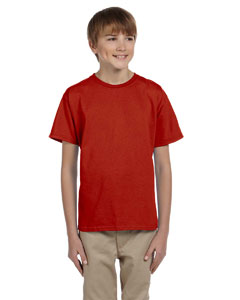 Deep Red Youth 5.2 oz., 50/50 ComfortBlend® EcoSmart® T-Shirt