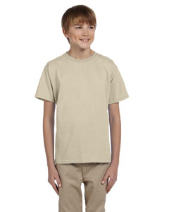 Sand Youth 5.2 oz., 50/50 ComfortBlend® EcoSmart® T-Shirt