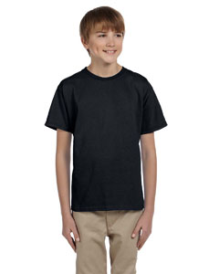 Black Youth 5.2 oz., 50/50 ComfortBlend® EcoSmart® T-Shirt