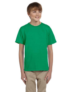 Kelly Green Youth 5.2 oz., 50/50 ComfortBlend® EcoSmart® T-Shirt