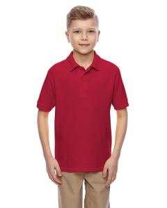 True Red Youth 5.3 oz. Easy Care™  Polo