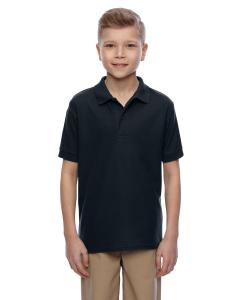 Black Youth 5.3 oz. Easy Care™  Polo