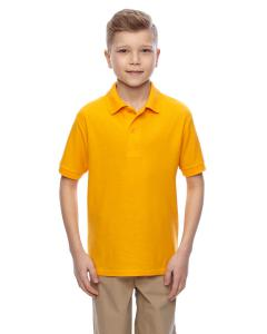 Gold Youth 5.3 oz. Easy Care™  Polo