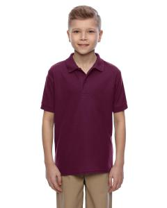 Maroon Youth 5.3 oz. Easy Care™  Polo