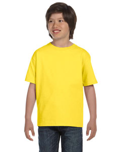 Yellow Youth Unisex 6.1 oz. Beefy-T®