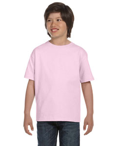 Pale Pink Youth Unisex 6.1 oz. Beefy-T®