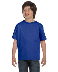 Deep Royal Youth Unisex 6.1 oz. Beefy-T®