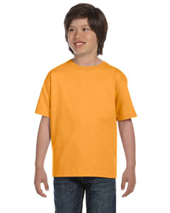 Gold Youth Unisex 6.1 oz. Beefy-T®