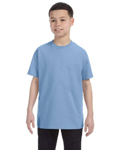 Light Blue Youth Unisex 6.1 oz. Tagless® T-Shirt