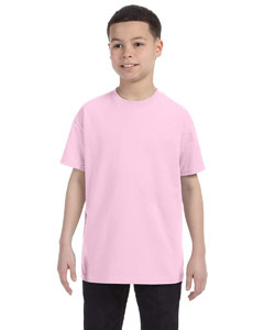 Pale Pink Youth Unisex 6.1 oz. Tagless® T-Shirt