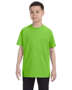 Lime Youth Unisex 6.1 oz. Tagless® T-Shirt