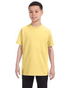 Daffodil Yellow Youth Unisex 6.1 oz. Tagless® T-Shirt