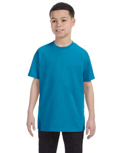 Teal Youth Unisex 6.1 oz. Tagless® T-Shirt
