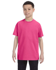 Wow Pink Youth Unisex 6.1 oz. Tagless® T-Shirt