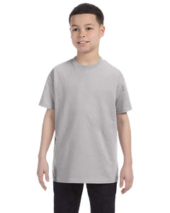 Light Steel Youth Unisex 6.1 oz. Tagless® T-Shirt