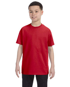 Deep Red Youth Unisex 6.1 oz. Tagless® T-Shirt