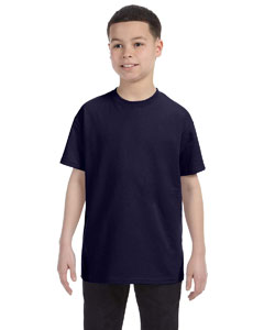 Navy Youth Unisex 6.1 oz. Tagless® T-Shirt