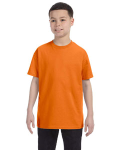 Orange Youth Unisex 6.1 oz. Tagless® T-Shirt