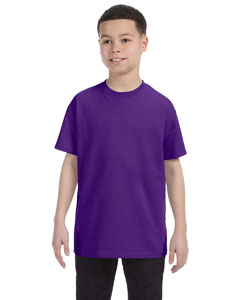 Purple Youth Unisex 6.1 oz. Tagless® T-Shirt