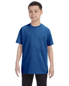 Deep Royal Youth Unisex 6.1 oz. Tagless® T-Shirt