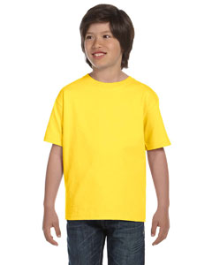Yellow Youth 5.2 oz. ComfortSoft® Cotton T-Shirt