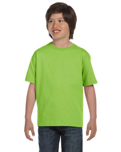 Lime Youth 5.2 oz. ComfortSoft® Cotton T-Shirt