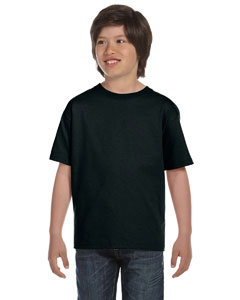 Black Youth 5.2 oz. ComfortSoft® Cotton T-Shirt