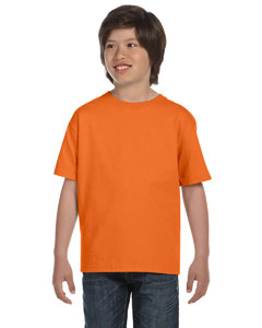 Orange Youth 5.2 oz. ComfortSoft® Cotton T-Shirt